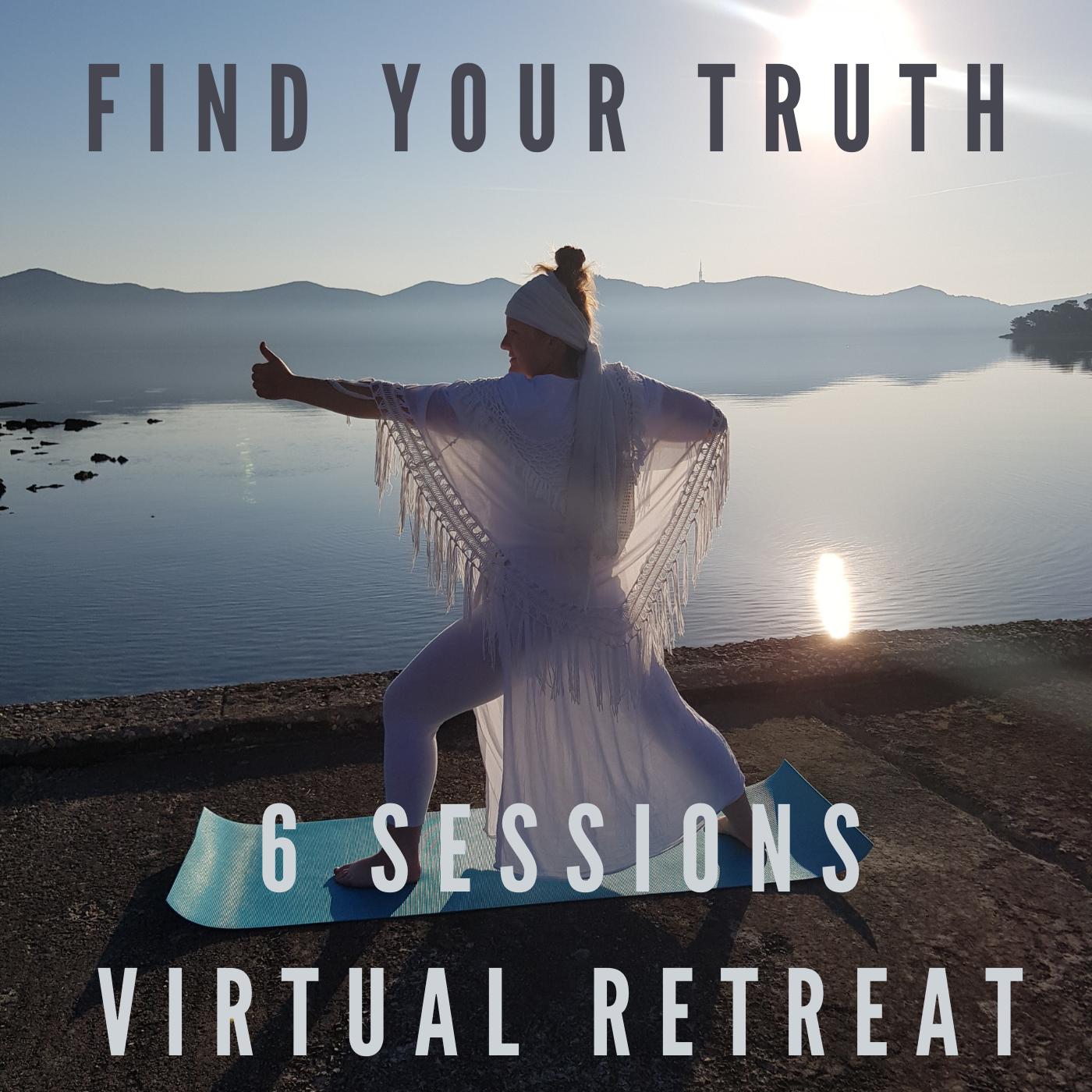 Find YOUR Truth - Kundalini Yoga Virtual Retreat Experience